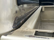 1968 Chevy C 10 bed damage