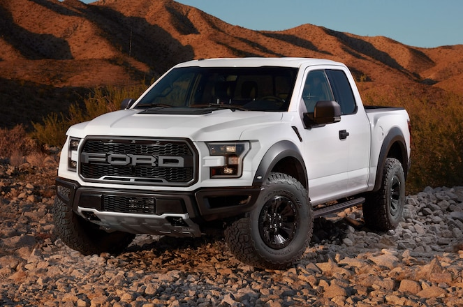 2017 Ford F-150 Raptor Features BFGoodrich T/A K02 Tires