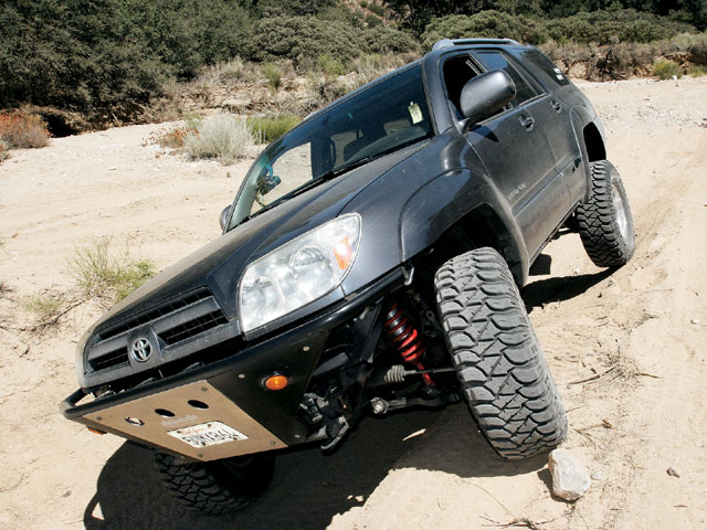 0812 4wd 01 z+2003 toyota 4runner project+on trail