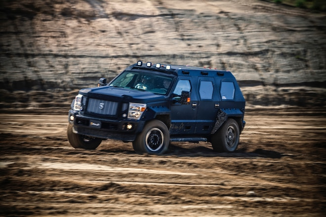 Even The SWAT Team Wanted To Drive The USSV Rhino GX