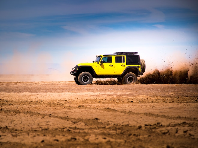 Pennzoil Puts a  2016 Jeep Wrangler Rubicon to the Test in Baja - Video