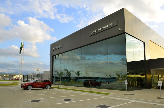 Land Rover Officially Opens Brazil Plant