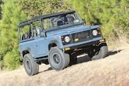 24 1994 Land Rover Defender 90 LS Engine