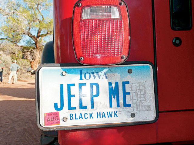 0810 4wd 03 z+arch canyon jeep jamboree+license plate