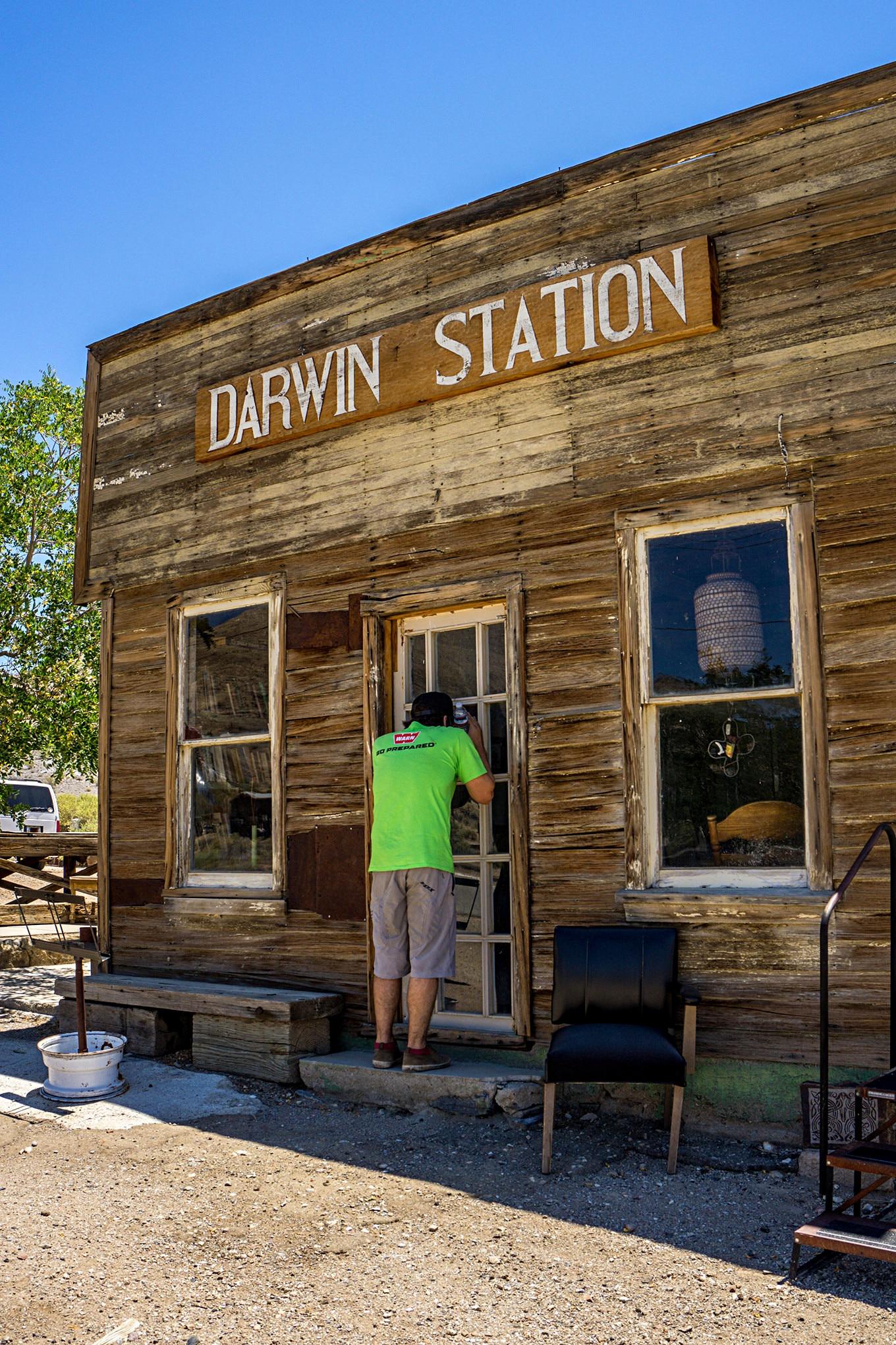 UA day2 darwin station