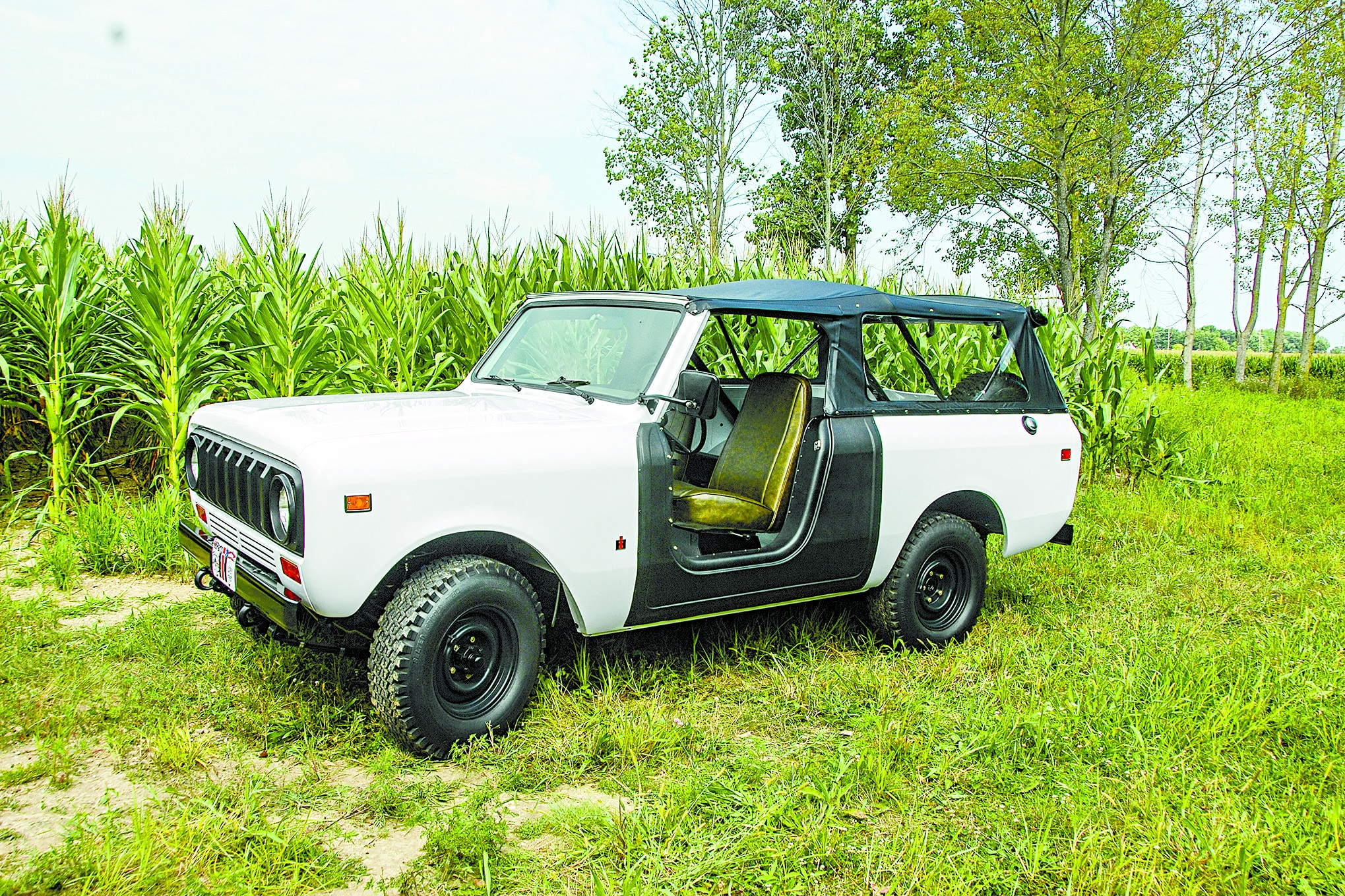 This 1974 International Scout II Works As Good As It Looks