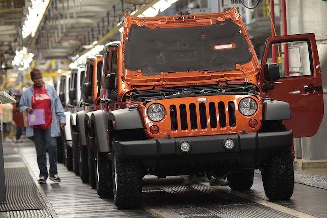 Toledo Jeep Workers Get Temporary Furloughs for New Wrangler