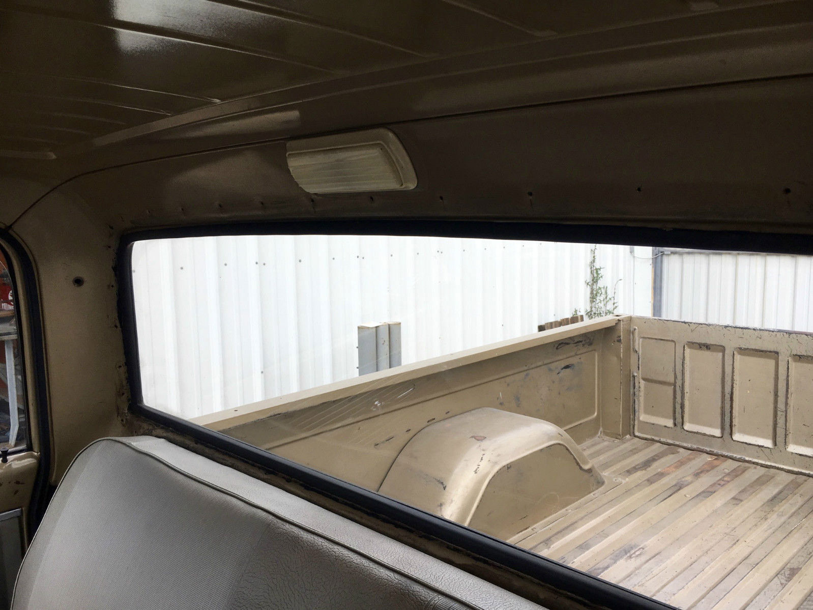 1968 Chevy C 10 holes in cab