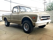 1968 Chevy C 10 front three quarter
