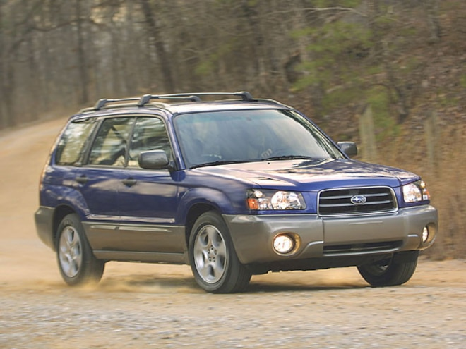 Subaru Forester - Drivelines