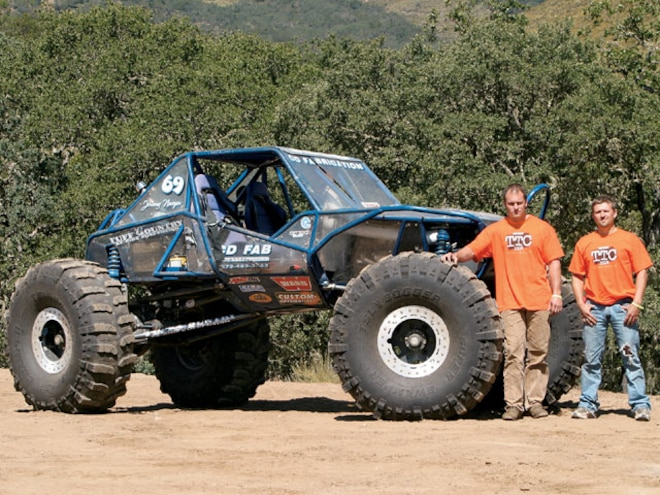 2003 Avalanche Off Road Buggy - 2008 Top Truck Challenge Finalist