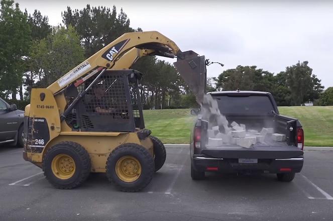 2017 Honda Ridgeline Aces Paver Brick Test with Composite Bed