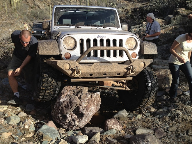Nena Knows Jeeps - It's a dirty job, but somebody has to do it