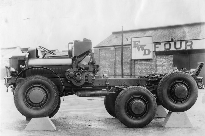 Articulating The Point - A 1920s British take on the legendary FWD Model B