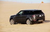 2014 range rover sport in the dunes