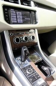 2014 range rover sport shifter