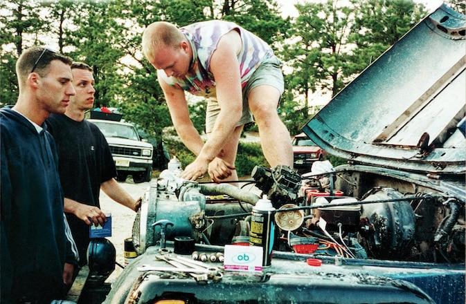 Throwback Jeep Memories - Trail Head