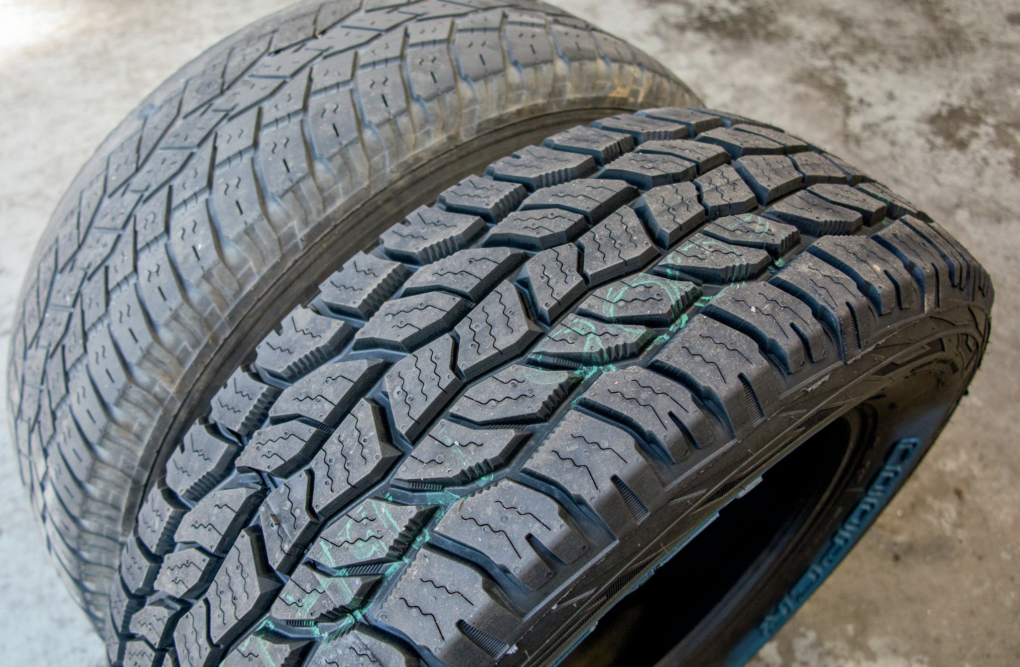 The silica-based tread compound and generous siping on the Cooper Discoverer A/T3 made them an easy choice for a vehicle that sees a lot of snow and ice in the winter. I got a set of A/T3s in the stock 235/65R17 size, and they came with a 50,000-mile treadwear warranty, so we won't need to worry about tires again for years.