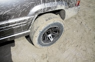 nitto exograppler covered in mud