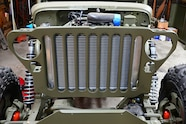 015 jeep willys flatfender engine swap cappa gpw 43 gm v6 griffin radiator combo unit