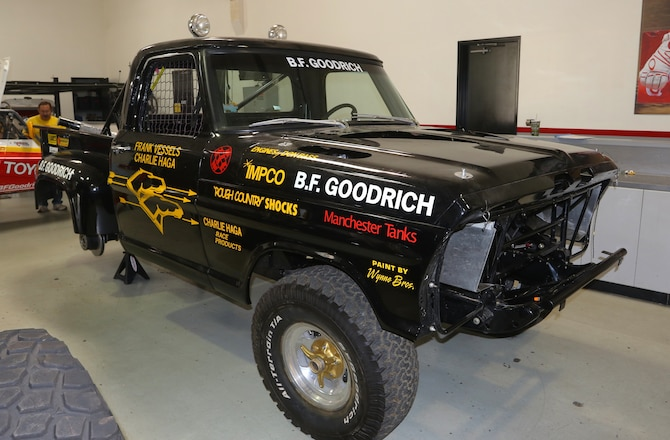 "Vintage Race Truck to Take on the NORRA Mexican 1000 - Frank ""Scoop"" Vessels 1972 Ford F-100 Rides Again"