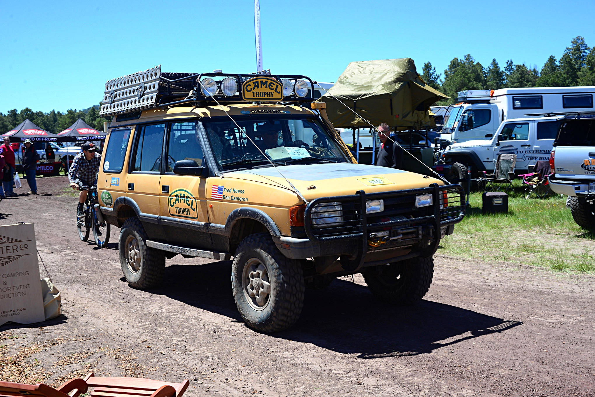 012 2016 Overland Expo 4x4 Vehicles Camping Flagstaff Mormon Lake Arizona Land Rover Discovery Camel Trophy Photo 107157367