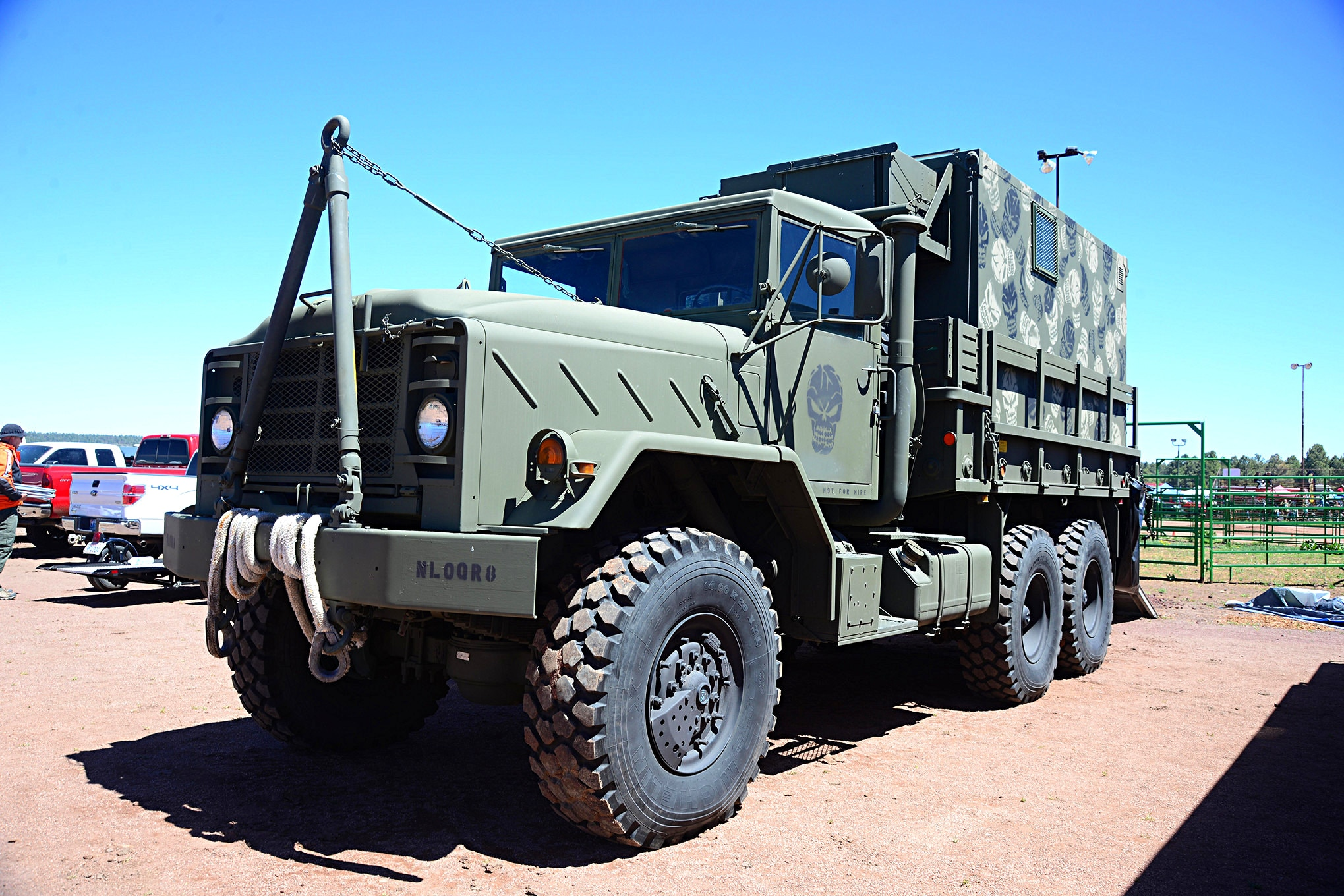 001 Lead 2016 Overland Expo 4x4 Vehicles Camping Flagstaff Mormon Lake Arizona Military 5 Ton Truck 6x6 Photo 107157397