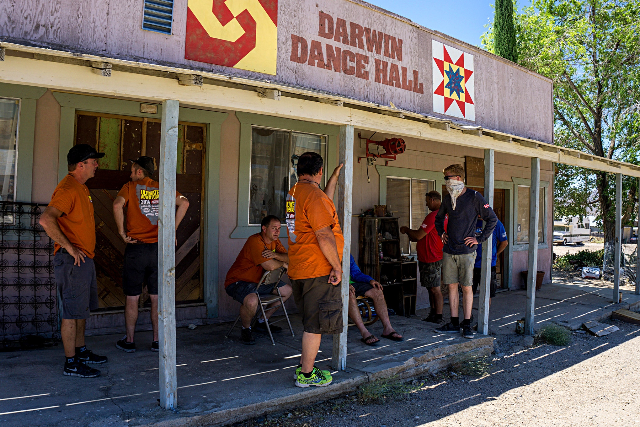UA day2 darwin dance hall