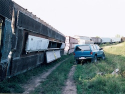 Mazda b4000 & Postal Jeep - Whoops!