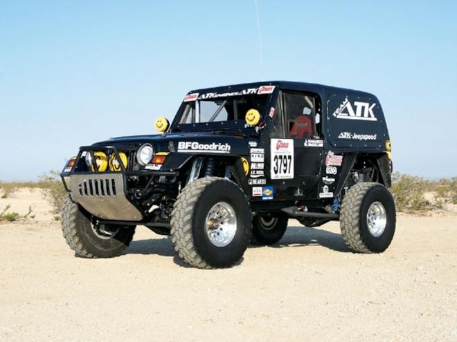 1998 Jeep Wrangler Desert Race Car - Team ATK's Race Ready Wrangler