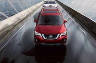 2017 nissan pathfinder front in motion towing 23