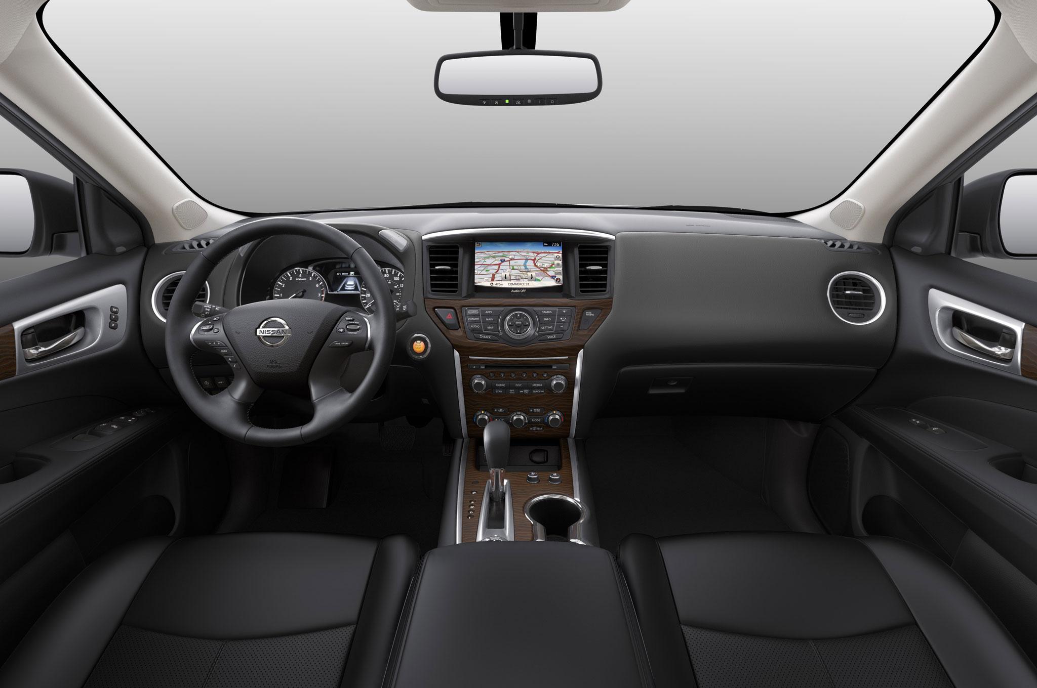 2017 nissan pathfinder interior dashboard 11