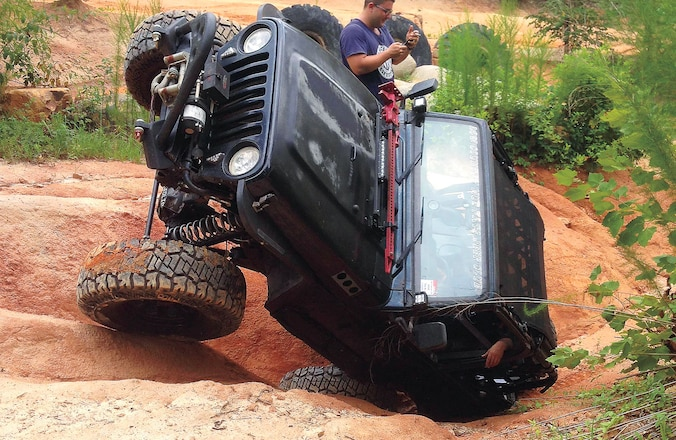 1999 Jeep Wrangler TJ Flopped On Drivers Side - Whoops!