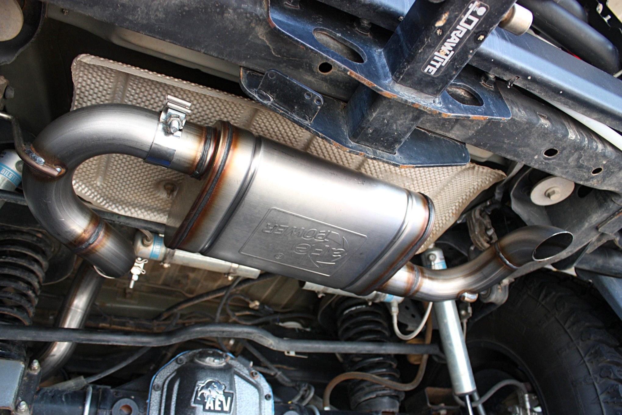 aFe Power MACH Force XP 2.5-Inch After-Cat Exhaust System for 2007-2016 Jeep Wrangler