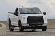 2018 ford f 150 spied front quarter view