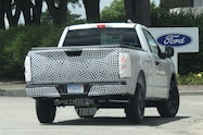 2018 ford f 150 spied rear quarter view