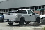 2018 ford f 150 spied rear side quarter view