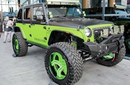 jeep with large wheels