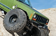 jeep with steel wheels