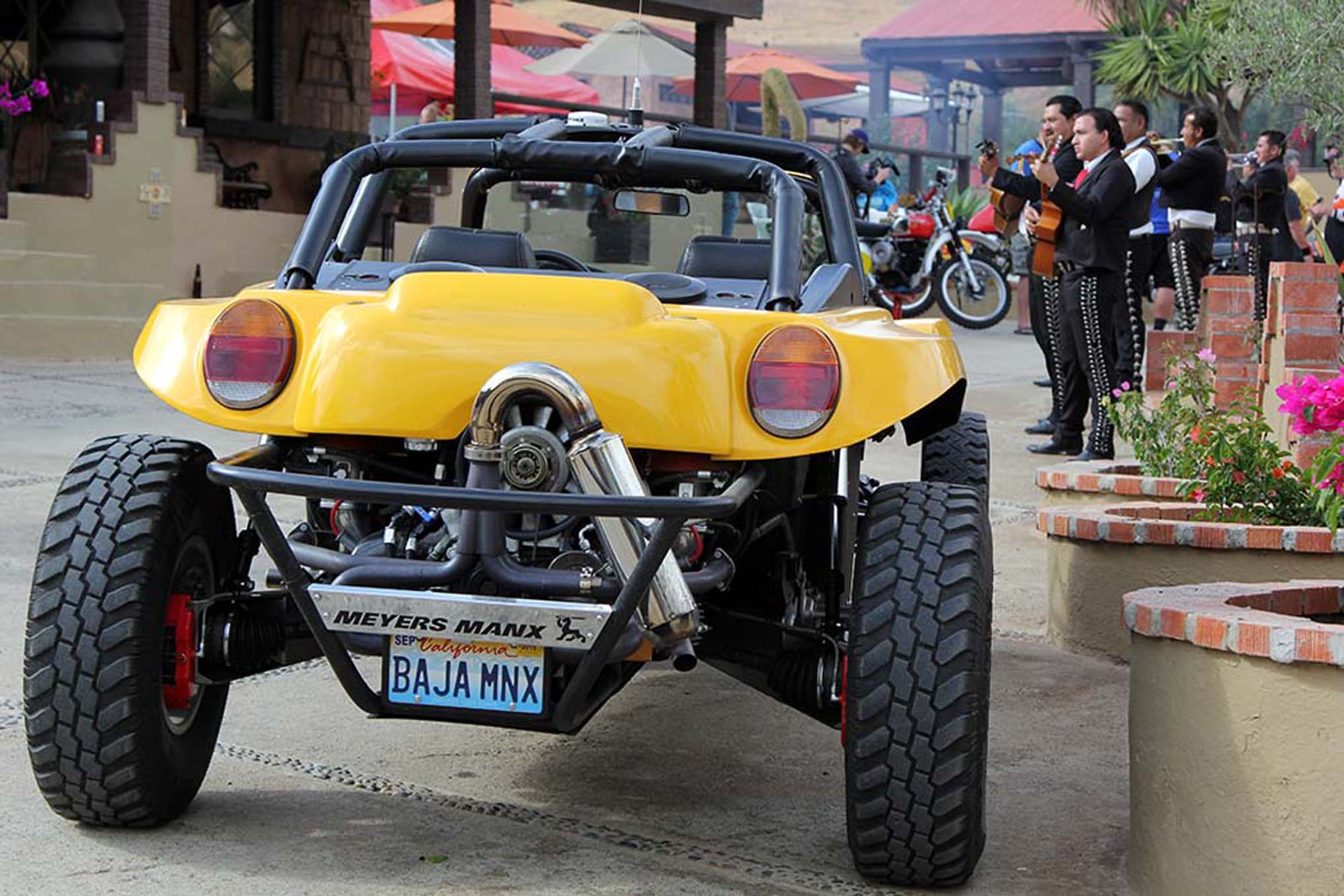 034NORRA Mexican 1000 BAJA offroad Race 2015 Manx Nova Chevy James Garner