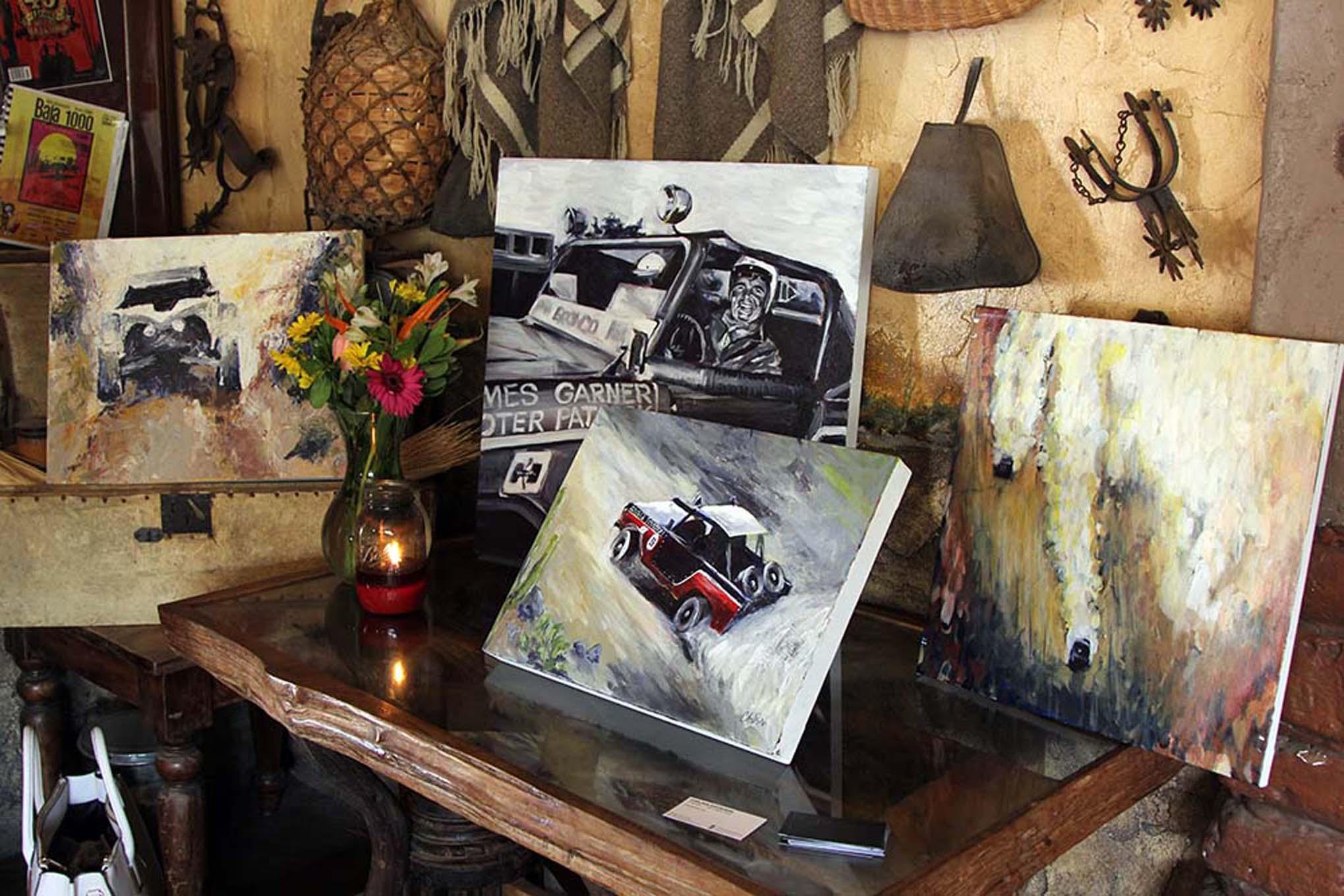 036NORRA Mexican 1000 BAJA offroad Race 2015 Manx Nova Chevy James Garner