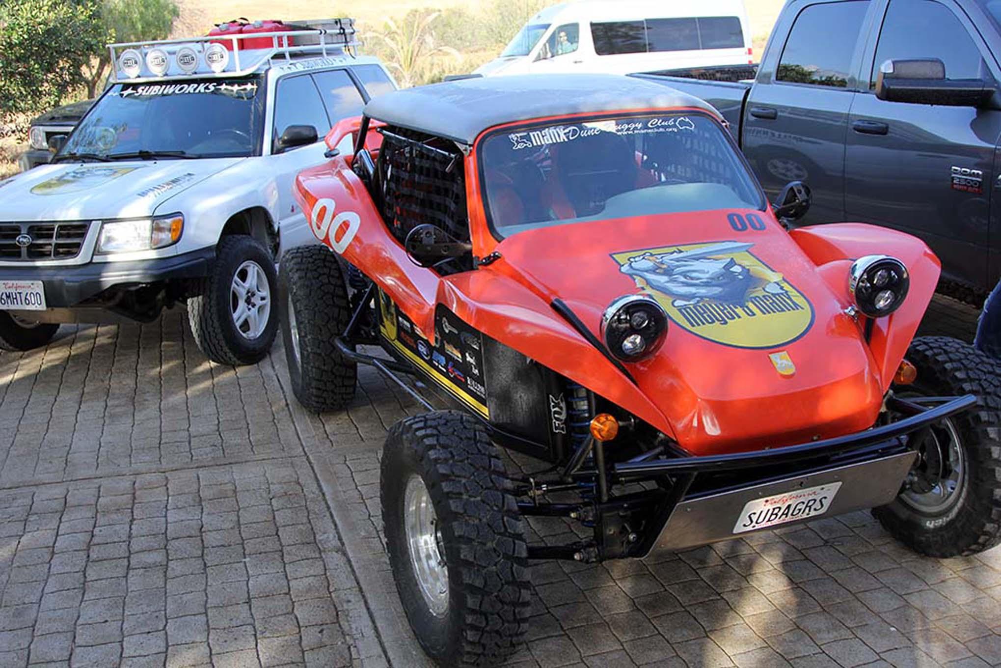 075NORRA Mexican 1000 BAJA offroad Race 2015 Manx Nova Chevy James Garner