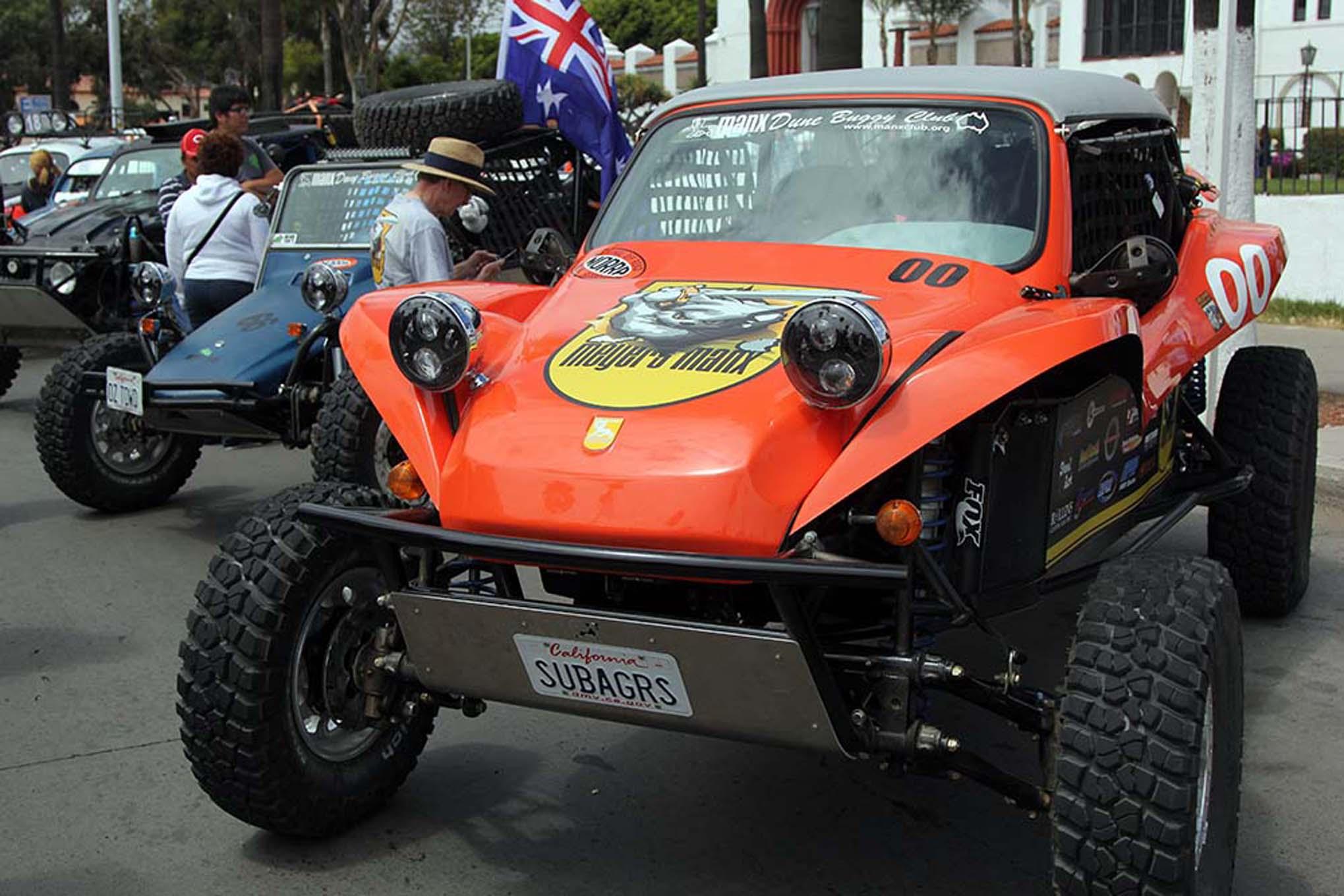 093NORRA Mexican 1000 BAJA offroad Race 2015 Manx Nova Chevy James Garner