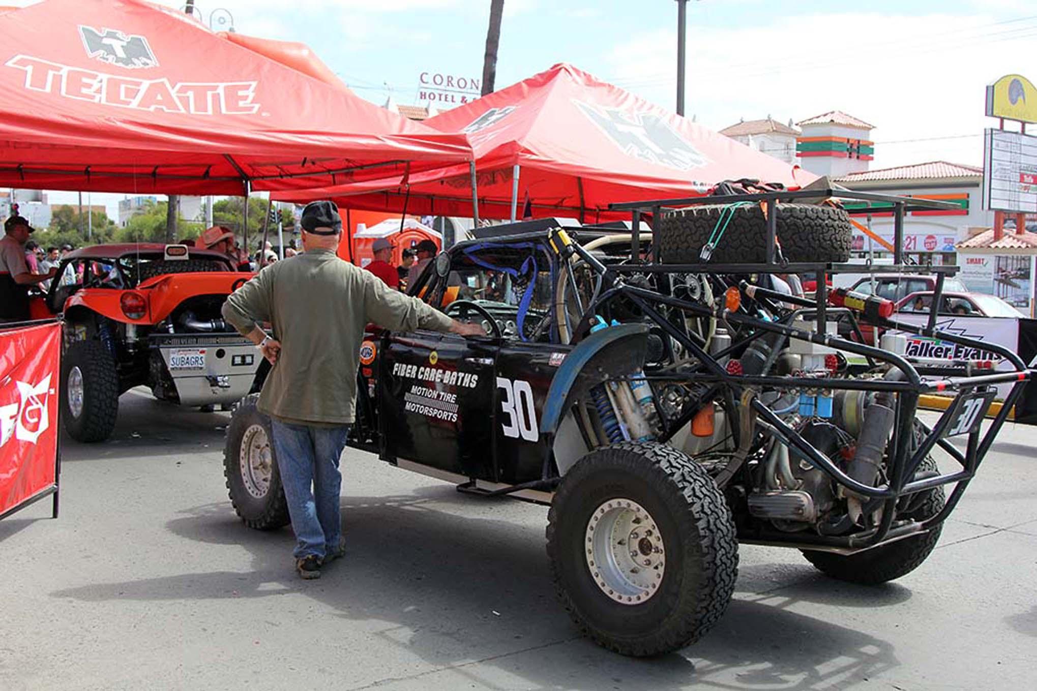 105NORRA Mexican 1000 BAJA offroad Race 2015 Manx Nova Chevy James Garner