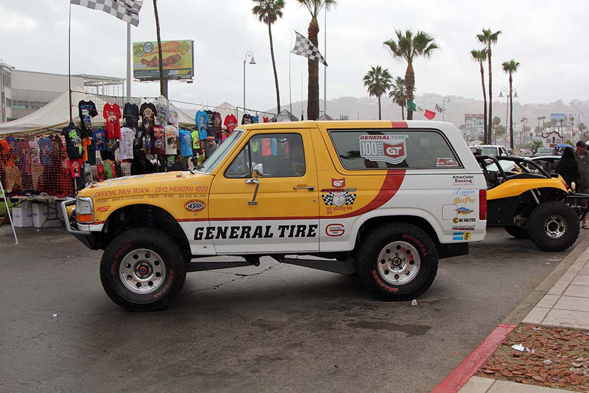 129NORRA Mexican 1000 BAJA offroad Race 2015 Manx Nova Chevy James Garner