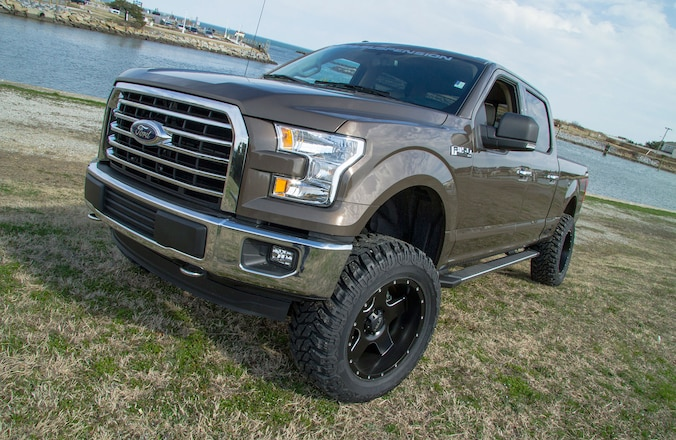 2015 Ford F-150 BDS Suspension Upgrades