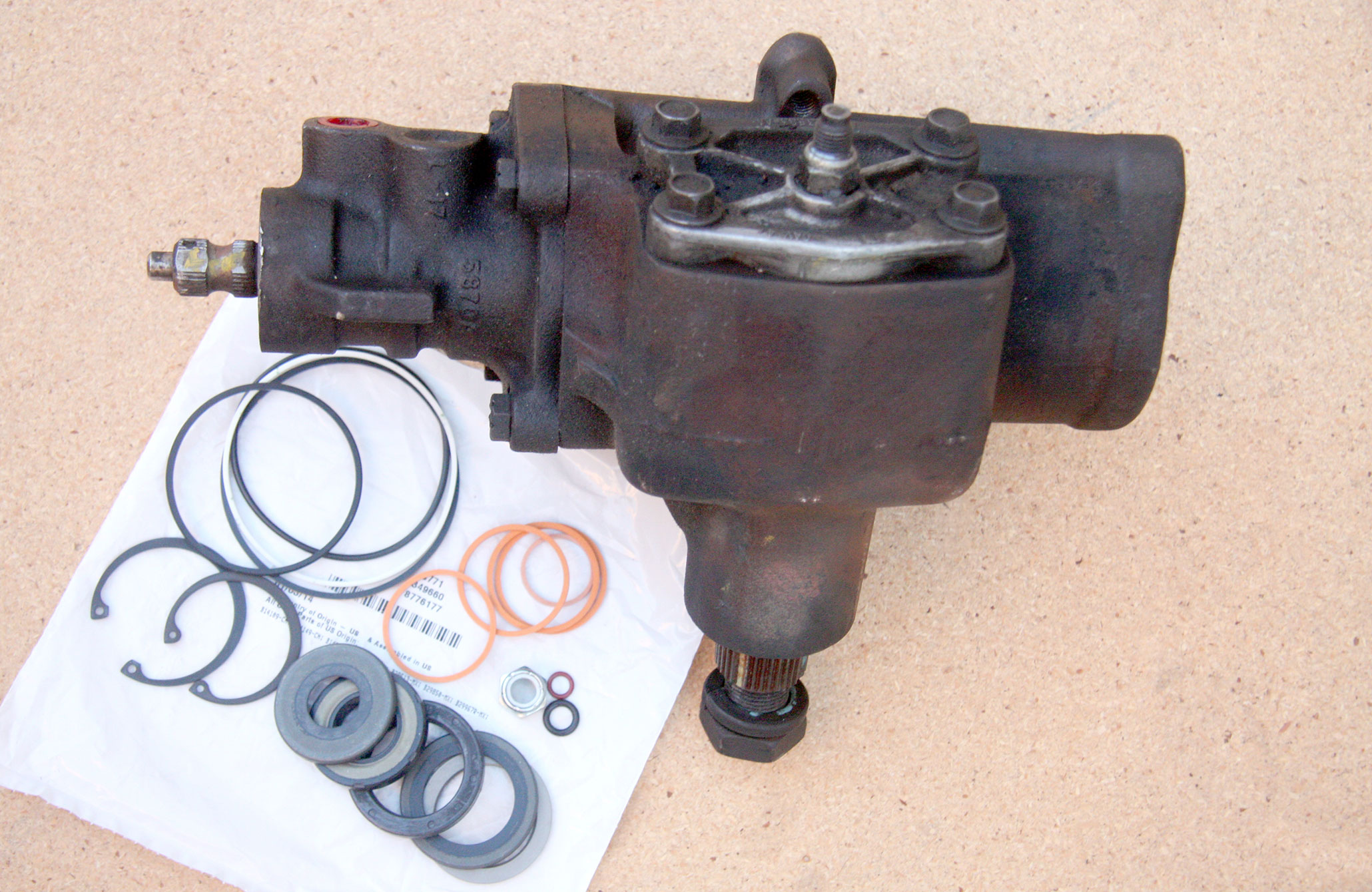 fixing your ford f 150 power steering box Ross Steering Gearbox