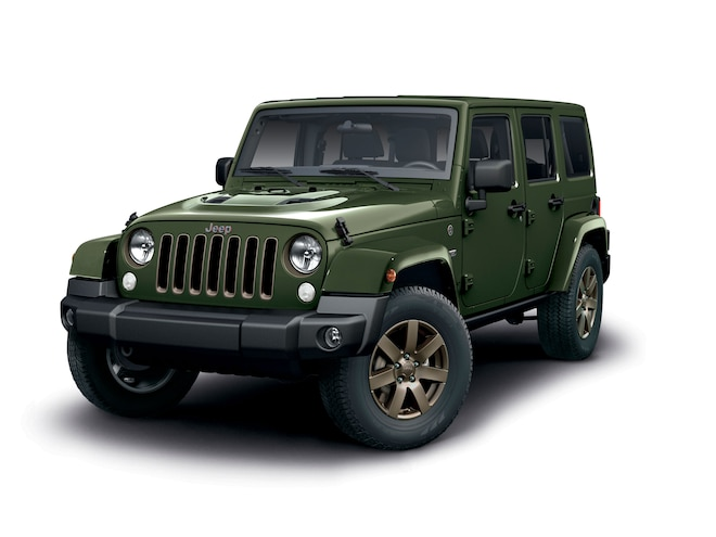Jeep Adds 75th Anniversary Wrangler to 2016 UK Lineup