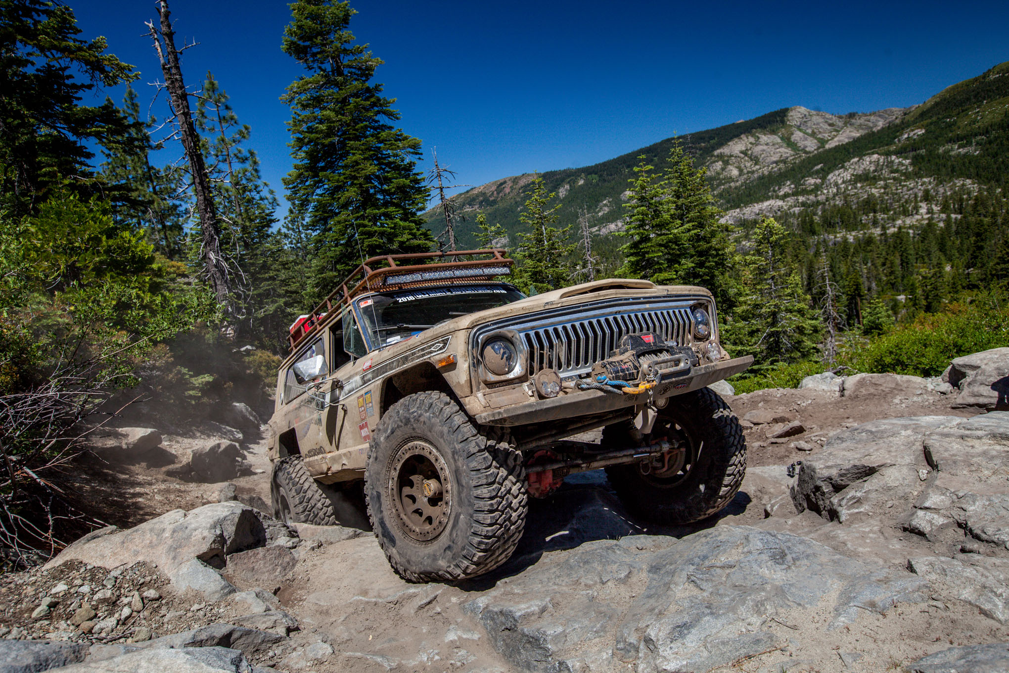 009 2016 Ultimate Adventure vehicles and people