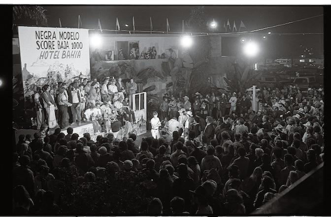 1980 Baja 1000 Awards Ceremony - Hourglass